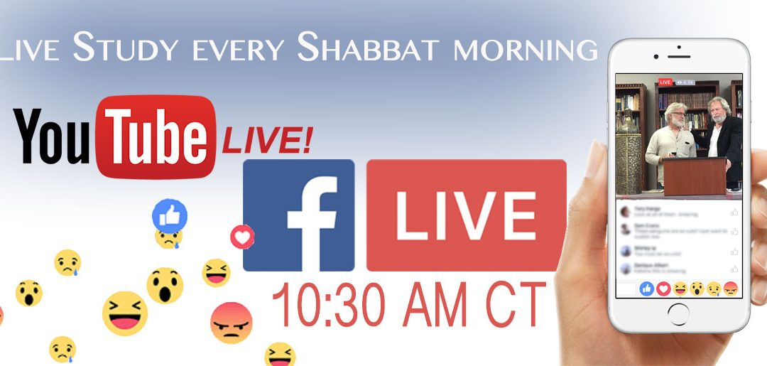 Shabbat Service on Location and Online