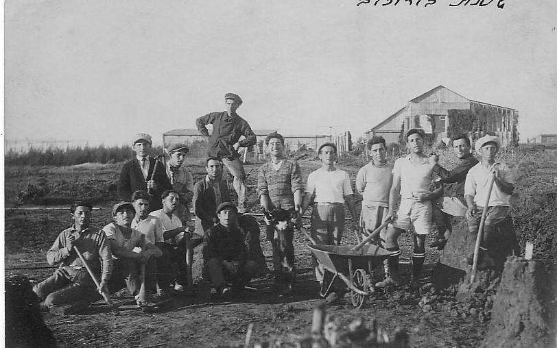 Horowitz Kibbutz 1926