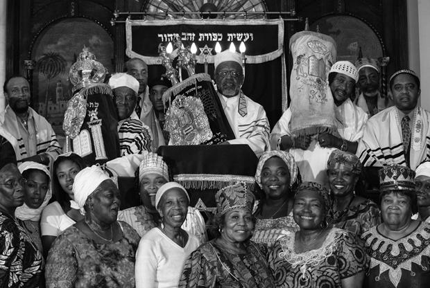 Rabbi Paris at his Beth Shalom Synagogue