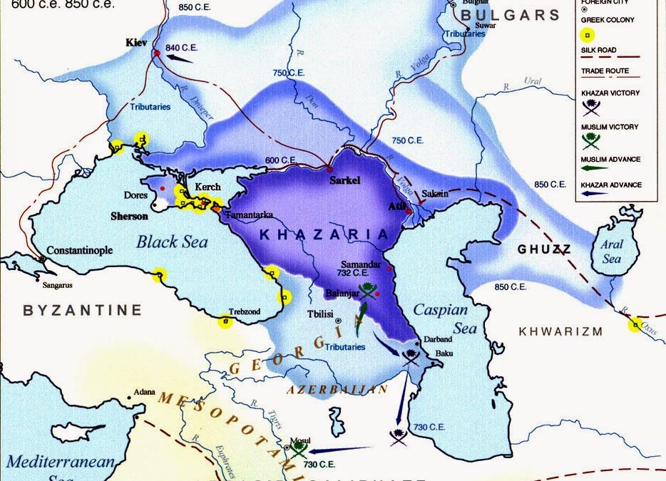 Did the Khazars Convert to Judaism? New Research Says No