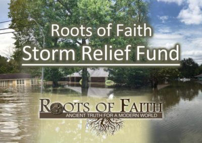 Flood Relief Fund Launched by United Israel World Union Vice President Ross Nichols