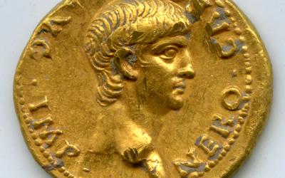 Rare Nero Coin Found at Mt Zion Excavation in Jerusalem