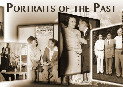 Portaits of the Past Series