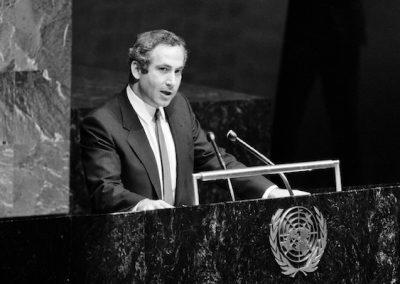 Remembering David Horowitz (39): Bibi's UN Debut