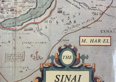 A Review of Menashe Har-El's, Sinai Journeys – The Route of the Exodus